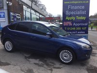 USED 2009 09 FORD FOCUS 1.6 TITANIUM TDCI 5d 108 BHP, only 57000 miles *****FINANCE AVAILABLE APPLY ONLINE******