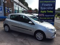 USED 2010 60 RENAULT CLIO 1.1 EXPRESSION 16V 5d 74 BHP, only 35000 miles *****FINANCE AVAILABLE APPLY ONLINE******