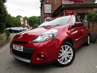 USED 2011 11 RENAULT CLIO 1.6 DYNAMIQUE TOMTOM VVT 5d AUTO 111 BHP