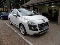 2012 PEUGEOT 3008 1.6 ALLURE E-HDI FAP 5d AUTO 112 BHP £7495.00