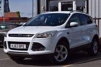 2013 FORD KUGA 2.0 ZETEC TDCI 5d AUTO 138 BHP £12995.00