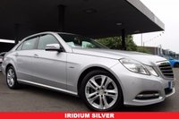 USED 2011 11 MERCEDES-BENZ E CLASS 2.1 E220 CDI BLUEEFFICIENCY AVANTGARDE 4d 170 BHP