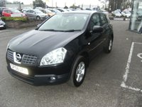USED 2008 58 NISSAN QASHQAI 1.5 ACENTA DCI 5d 105 BHP FREE 12 MONTHS RAC WARRANTY AND FREE 12 MONTHS RAC BREAKDOWN COVER