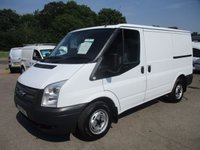 2013 FORD TRANSIT 250 EURO 5 100BHP WITH FULL HISTORY FROM CANDY/HOTPOINT £6795.00