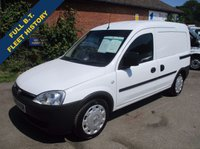 2010 VAUXHALL COMBO 2000 1.3 CDTi Direct From BT With History £3395.00