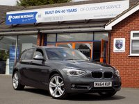 USED 2014 64 BMW 1 SERIES 2.0 116D SPORT 5dr  Sat Nav & M Sport Alloys *ONLY 9.9% APR with FREE Servicing*