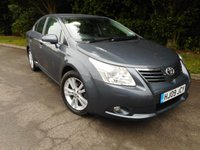 2009 TOYOTA AVENSIS 2.0 T4 VALVEMATIC 4d AUTO 150 BHP £SOLD