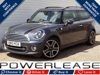 USED 2013 13 MINI CLUBMAN 1.6 COOPER D 5d 112 BHP £20 ROAD TAX HEATED SEATS FSH