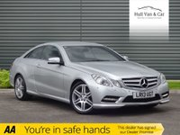 USED 2013 13 MERCEDES-BENZ E CLASS 2.1 E250 CDI BLUEEFFICIENCY S/S SPORT 2d AUTO 204 BHP DIESEL, AUTO, LEATHER, HISTORY