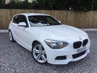 2012 BMW 1 SERIES 2.0 120D M SPORT 5d 181 BHP £12995.00