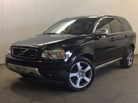 USED 2009 58 VOLVO XC90 2.4 D5 R-DESIGN AWD 5d AUTO 185 BHP SAT NAV DVD SCREENS 20 INCH ALLOYS LEATHER FSH NOW SOLD.
