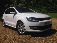 2014 VOLKSWAGEN POLO 1.2 MATCH EDITION 3d 59 BHP £7990.00