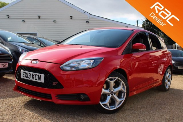View our 2013 13 FORD FOCUS 2.0 ST-2 5d 247 BHP