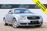 USED 2004 04 AUDI TT 1.8 QUATTRO 3d 221 BHP **£0 DEPOSIT FINANCE AVAILABLE**SECURE WITH A £99 FULLY REFUNDABLE DEPOSIT** RED LEATHER INTERIOR, HEATED FRONT SEATS, TRACTION CONTROL, ELECTRIC WINDOWS, ELECTRIC WING MIRRORS, FULL SERVICE HISTORY + 12 MONTHS MOT