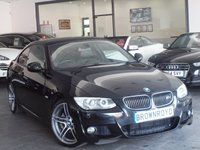 USED 2011 61 BMW 3 SERIES 3.0 325I M SPORT 2d AUTO 215 BHP ++LTHER+SATNAV+FBMWSH++