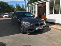 USED 2012 61 BMW 1 SERIES 1.6 116I SPORT 5d AUTO 135 BHP NEED FINANCE? WE CAN HELP. WE STRIVE FOR 94% ACCEPTANCE