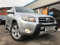 USED 2009 09 TOYOTA RAV4 2.2 SR180 D-4D 5d 175 BHP LEATHER, SUNROOF, PARKING SENS