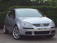 2007 VOLKSWAGEN GOLF 1.6 S FSI 3d 114 BHP £4000.00
