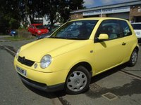 USED 2001 Y VOLKSWAGEN LUPO 1.4 E 3d 74 BHP CHEAP TO RUN AND INSURE, GREAT VALUE