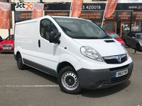 USED 2013 VAUXHALL VIVARO 2.0 2700 CDTI 1d 113 BHP (1 OWNER) WITH 7 SERVICES!