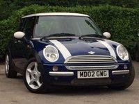 2002 MINI HATCH COOPER 1.6 COOPER 3d 114 BHP £1795.00
