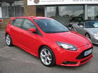 USED 2014 63 FORD FOCUS 2.0 ST-2 5d 247 BHP ST2 Full History. Bluetooth. Half Leather. Parking sensors.