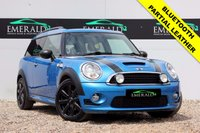 USED 2010 10 MINI CLUBMAN 1.6 COOPER S 5d 184 BHP **£0 DEPOSIT FINANCE AVAILABLE**SECURE WITH A £99 FULLY REFUNDABLE DEPOSIT** PARTIAL LEATHER UPHOLSTERY, BLUETOOTH CONNECTION, AIR CON, ELECTRIC WINDOWS,  CD PLAYER, FULL SERVICE HSITORY, FULL MOT
