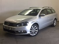 USED 2014 14 VOLKSWAGEN PASSAT 2.0 EXECUTIVE TDI BLUEMOTION TECHNOLOGY 5d 139 BHP SAT NAV LEATHER ONE OWNER FSH £30 YEAR ROAD TAX. 61 MPG. SATELLITE NAVIGATION. STUNNING SILVER MET WITH FULL BLACK LEATHER TRIM. HEATED SEATS. CRUISE CONTROL. 17 INCH ALLOYS. COLOUR CODED TRIMS. PARKING SENSORS. BLUETOOTH PREP. CLIMATE CONTROL. R/CD PLAYER. 6 SPEED MANUAL. MFSW. TOWBAR. MOT 03/18. ONE OWNER FROM NEW. FULL SERVICE HISTORY. PRISTINE CONDITION. FCA FINANCE APPROVED DEALER. TEL 01937 849492