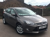 USED 2013 63 FORD FOCUS 1.6 TITANIUM Turbo 5d 148 BHP