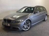 USED 2010 10 BMW 3 SERIES 2.0 318D M SPORT BUSINESS EDITION TOURING 5d 141 BHP SAT NAV LEATHER PDC £30 YEAR ROAD TAX. 62 MPG. SATELLITE NAVIGATION. M SPORT BODYKIT. STUNNING GREY MET WITH FULL BLACK LEATHER SPORTS TRIM. CRUISE CONTROL. 18 INCH ALLOYS. COLOUR CODED TRIMS. PARKING SENSORS. BLUETOOTH PREP. CLIMATE CONTROL. R/CD PLAYER. 6 SPEED MANUAL. MFSW. MOT 06/18. SERVICE HISTORY. PRISTINE CONDITION. FCA FINANCE APPROVED DEALER. TEL 01937 849492