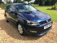 USED 2014 10 VOLKSWAGEN POLO 1.4 MATCH EDITION 5d 83 BHP CRUISE