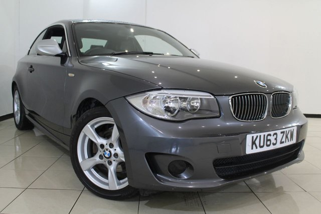 View our 2013 63 BMW 1 SERIES 2.0 118D EXCLUSIVE EDITION 2DR 141 BHP