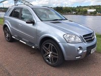 USED 2007 07 MERCEDES-BENZ M CLASS 4.0 ML420 CDI SPORT 5d 302 BHP **VERY RARE CONVERSION**