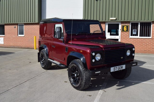 2017 LAND ROVER DEFENDER 2.5TDV8 Hard Top