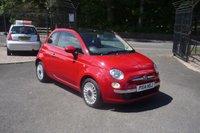 2014 FIAT 500 1.2 LOUNGE 3d 69 BHP £6750.00