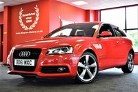 USED 2011 61 AUDI A3 1.8 TFSI S LINE SPECIAL EDITION 3d 158 BHP