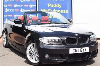 2011 BMW 1 SERIES 2.0 118D M SPORT 2d 141 BHP £9295.00