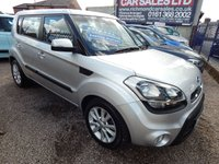 USED 2011 61 KIA SOUL 1.6 2 CRDI 5d 126 BHP FULL SERVICE HISTORY, BLUETOOTH, ALLOYS,