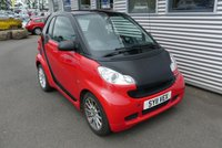 USED 2011 11 SMART FORTWO 0.8 PASSION CDI 2d