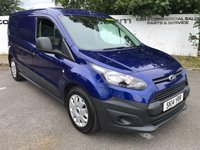 USED 2014 14 FORD TRANSIT CONNECT 210 1.6 TDCI L2 3 SEATER LWB  70 VANS IN STOCK