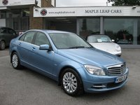 USED 2010 60 MERCEDES-BENZ C CLASS 1.8 C180 CGI BLUEEFFICIENCY ELEGANCE 4d AUTO 156 BHP Navigation Bluetooth Electric seats Cruise DAB Park sensors Automatic Climate control Full Mercedes History