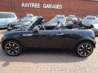 USED 2008 08 MINI CONVERTIBLE 1.6 COOPER SIDEWALK 2d 114 BHP FULL SERVICE HISTORY 2 KEYS