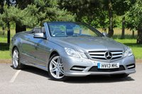 2013 MERCEDES-BENZ E CLASS 2.1 E250 CDI BLUEEFFICIENCY SPORT 2d AUTO 204 BHP £18490.00