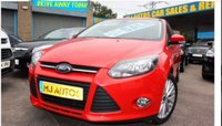 USED 2013 63 FORD FOCUS 1.0 ZETEC TURBO 5dr 124 BHP ZERO DEPOSIT FINANCE AVAILABLE - DRIVE AWAY TODAY IN THIS LOVELY LOW MILEAGE CAR - A BEST SELLER