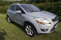 2011 FORD KUGA 2.0 TITANIUM X TDCI AWD 5d 163 BHP FFSH-NAV-LEATHER £10000.00