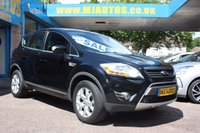 USED 2008 58 FORD KUGA 2.0 ZETEC TDCI AWD 5dr 134 BHP DRIVE AWAY TODAY | FROM 4% FLAT RATE