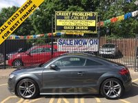 USED 2013 63 AUDI TT 2.0 TDI QUATTRO S LINE 2d 168 BHP STUNNING DAYTONA GREY PEARL WITH ALCANTARA/LEATHER UPHOLSTERY. ONLY ONE OWNER. CHEAPEST LIKE FOR LIKE ON AUTOTRADER.