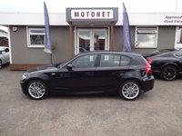 2008 BMW 1 SERIES 2.0 118I M SPORT 5DR HATCHBACK 141 BHP £5220.00