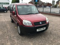 USED 2006 56 FIAT DOBLO 1.4 8V ACTIVE 5d WHEELCHAIR/DISABLED ACCESS-RAMP FITTED Wheelchair Accessible Vehicle-Rear Ramp-Low Mileage
