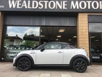 USED 2013 63 MINI COUPE 1.6 COOPER S 2d 181 BHP